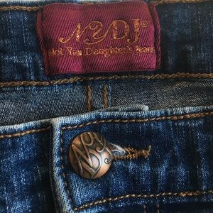NYDJ Jeans Plus Sized Ankle Length Medium wash